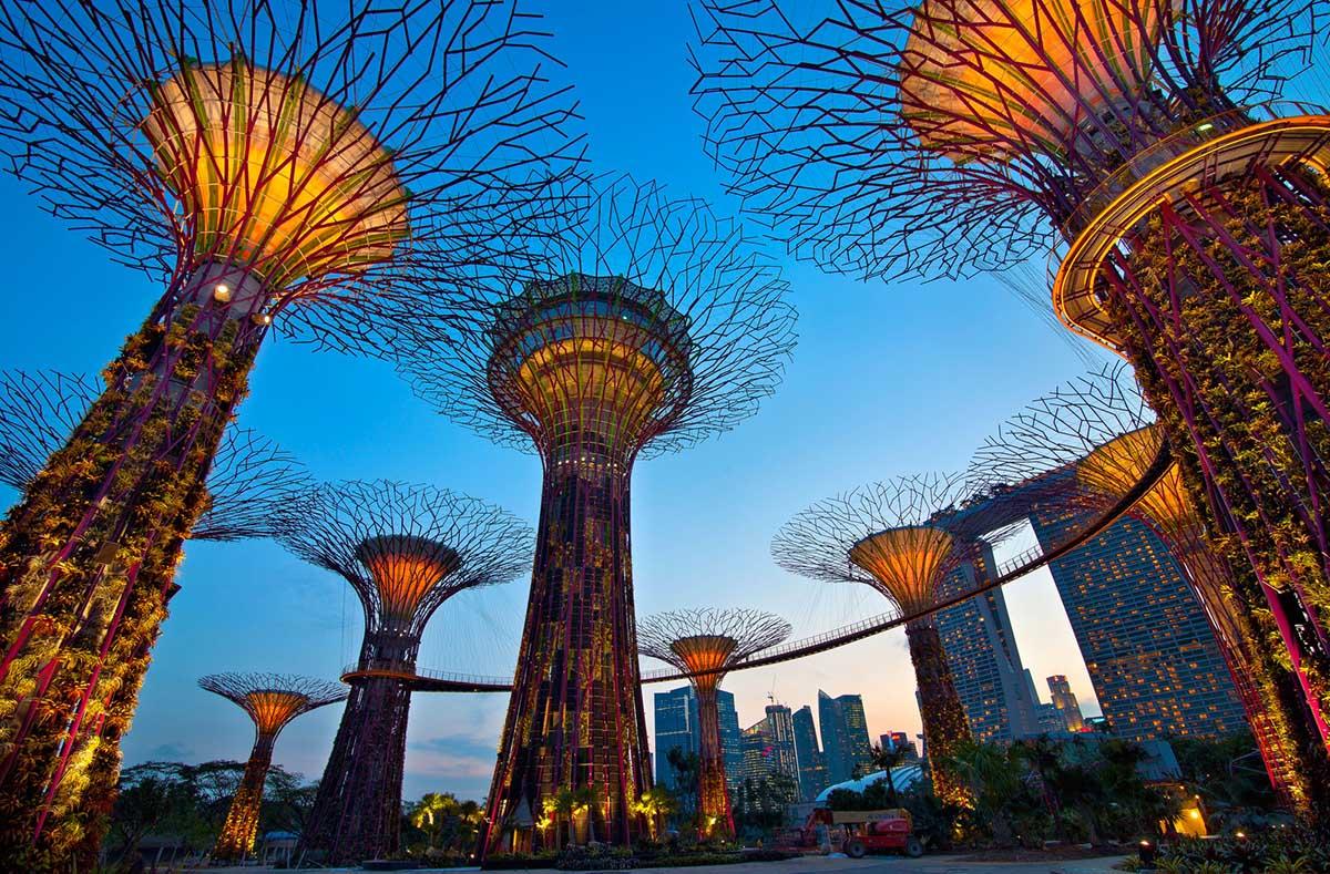 Сингапурские зимние сады