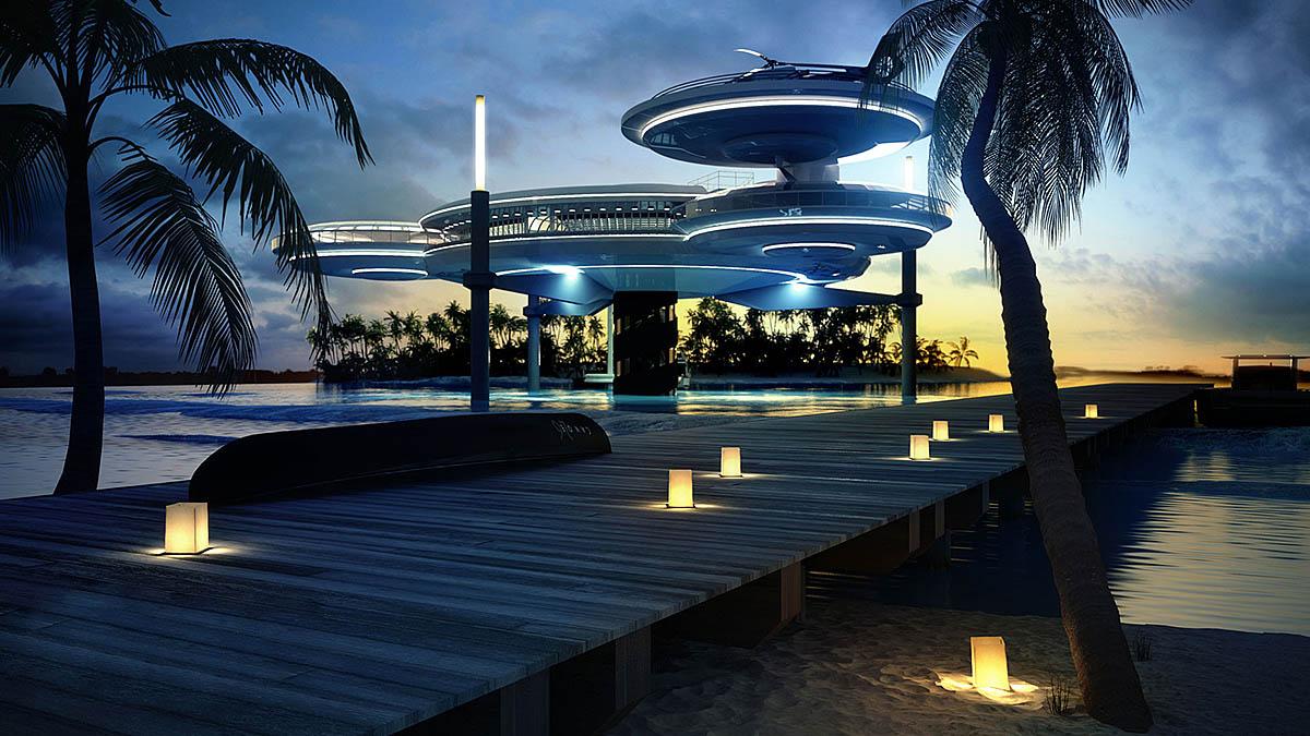 Water Discus Hotel, Dubai