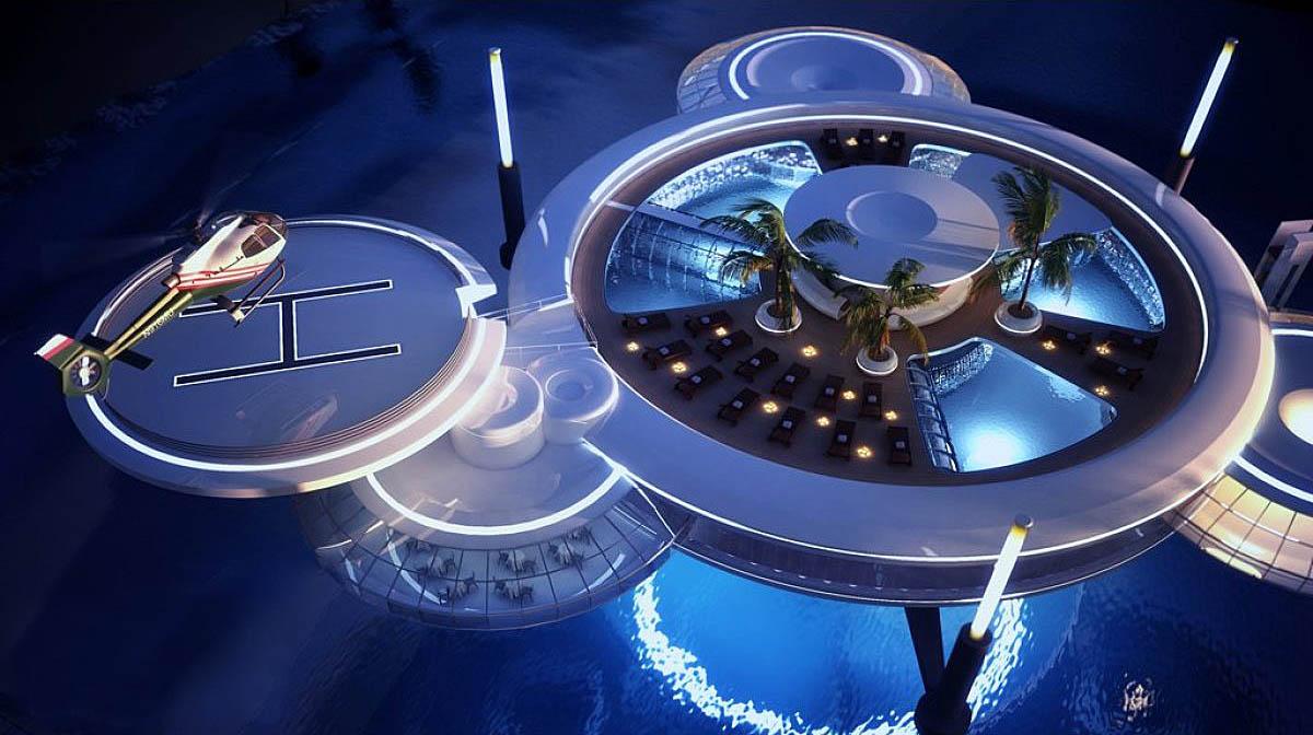 Water Discus Hotel in Dubai