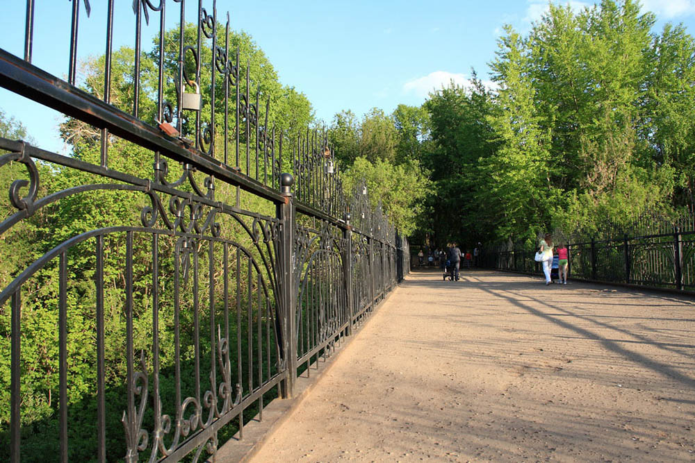 дорога в Александровский сад
