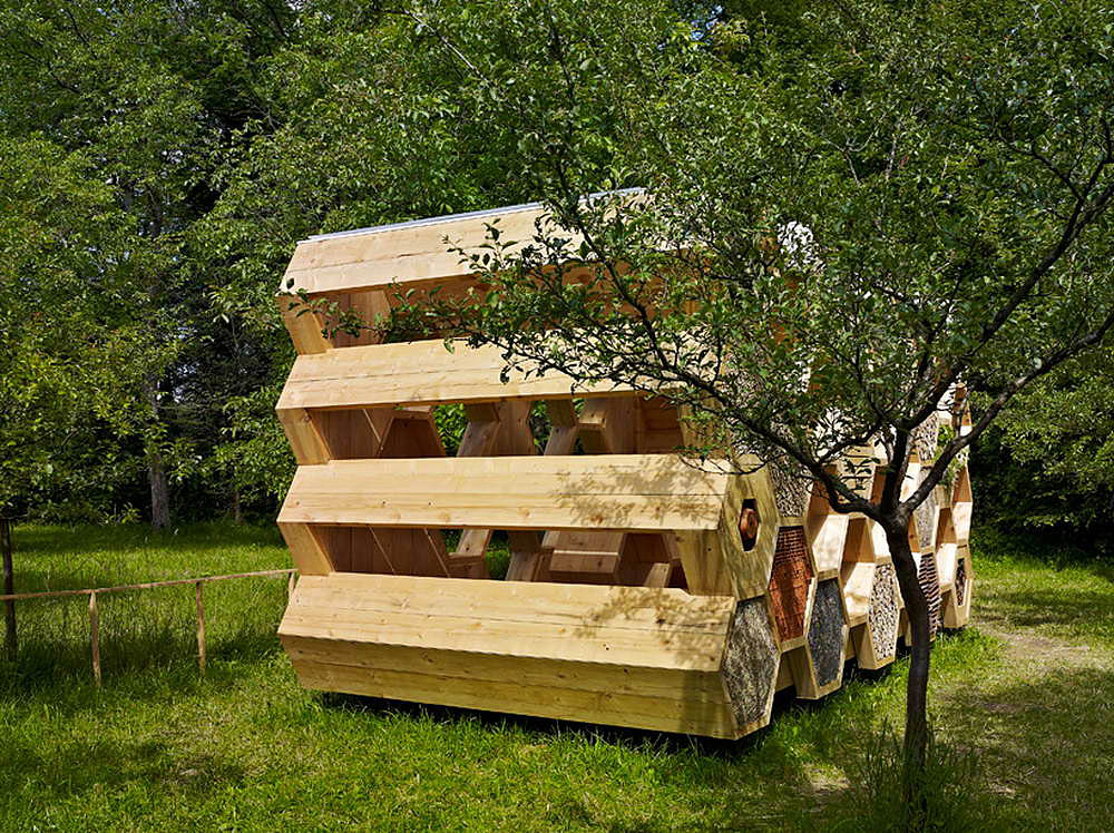 эко-отель Bee Pavilion, AtelierD