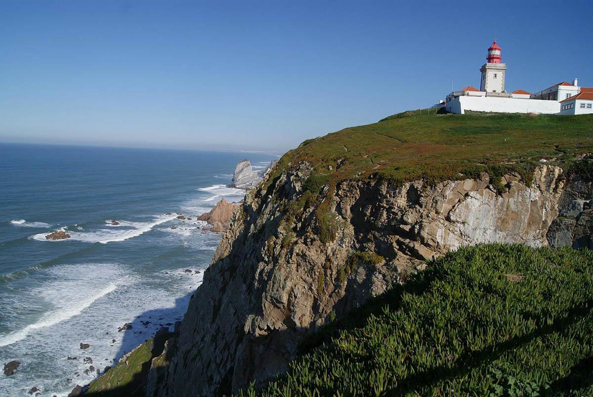 мыс Кабу да Рока, Атлантический океан, Португалия