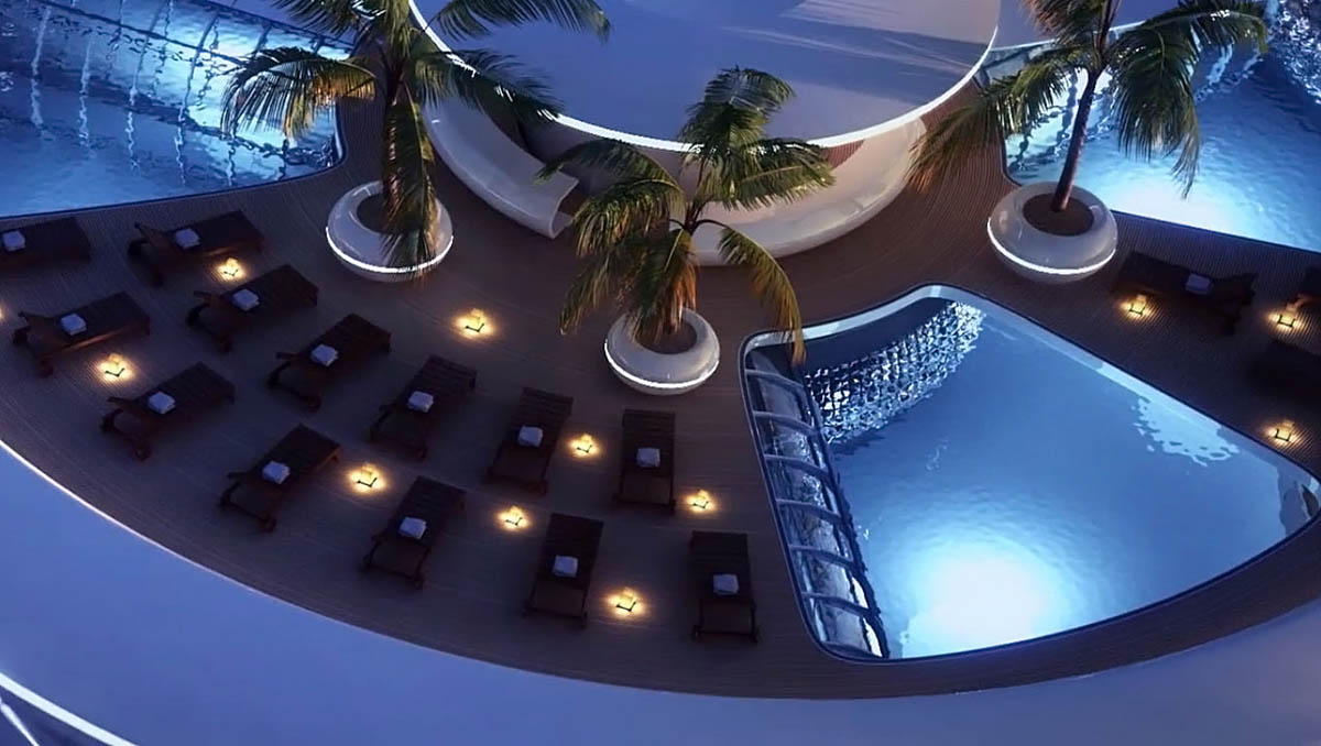 отель Water Discus Hotel в Дубае
