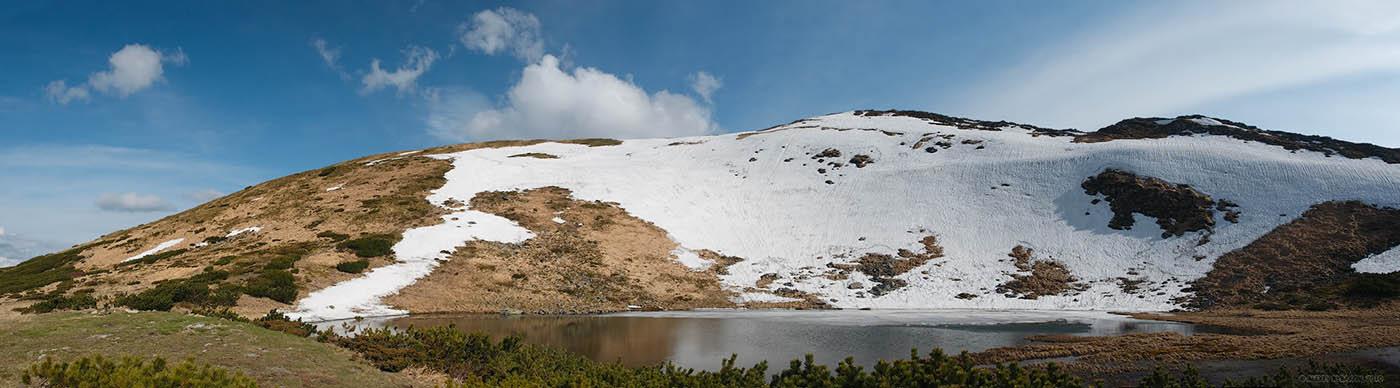 озеро Несамовите, панорама