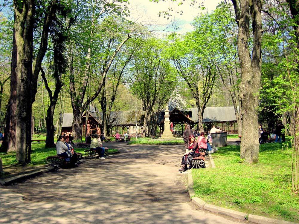 парковая зона Трускавца