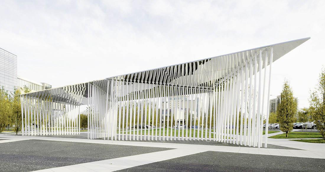 павильон в Scholars' Green Park
