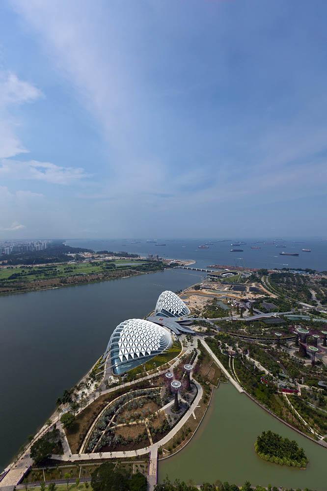 теплицы Сингапурских садов