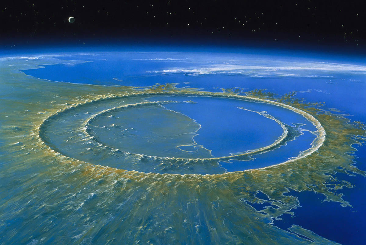 Chicxulub Crater in Mexico