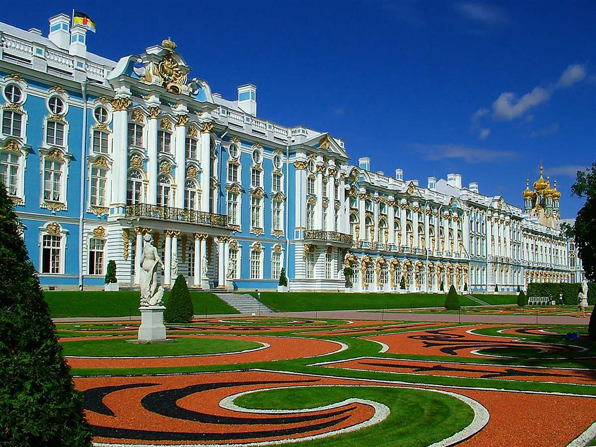 Екатерининский дворец, Царское Село, Пушкин, Санкт-Петербург