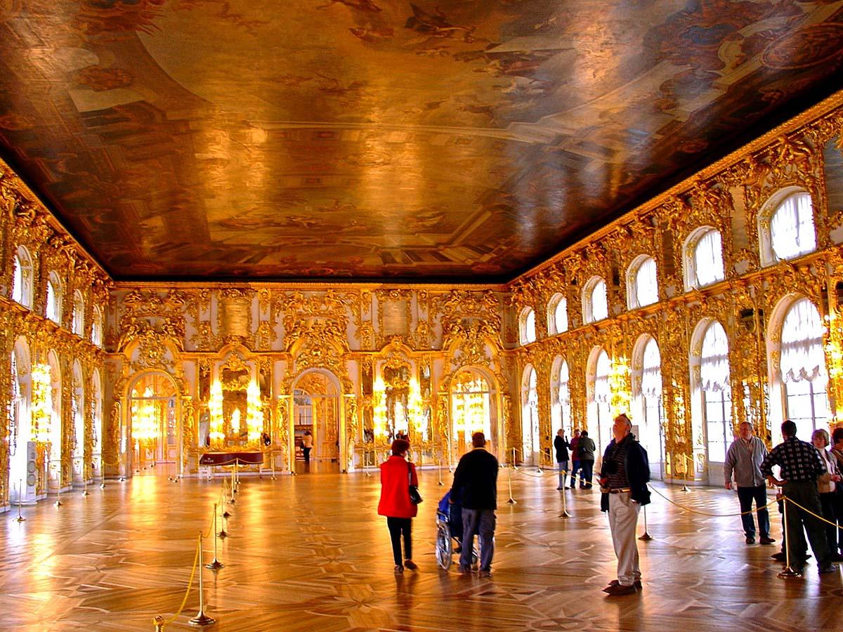 Екатерининский дворец, Янтарная комната