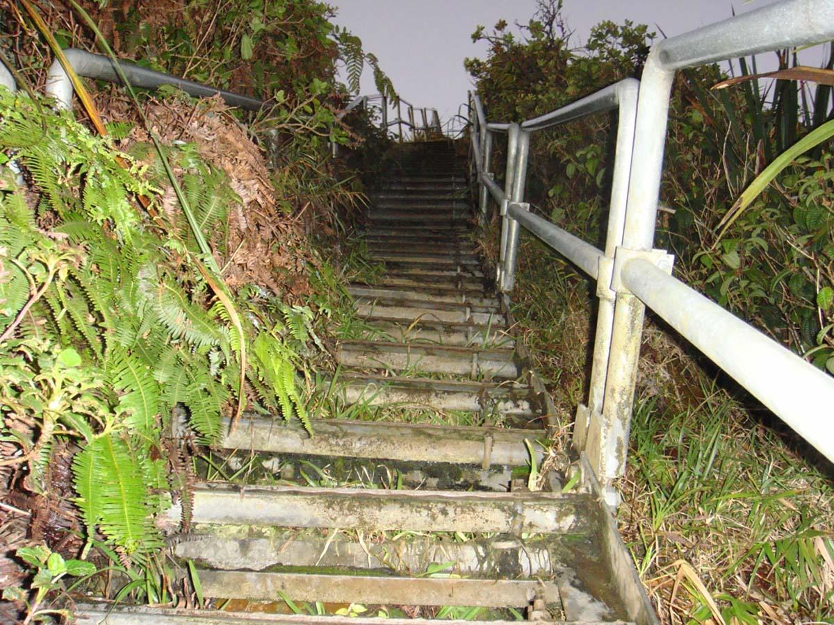 Haiku Stairs, Oahu island, Hawaii