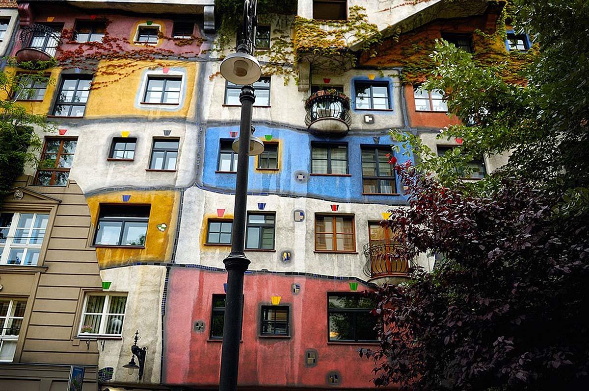 Hundertwasserhaus, Wiena