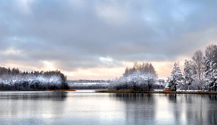 Смоленское Поозерье зимой