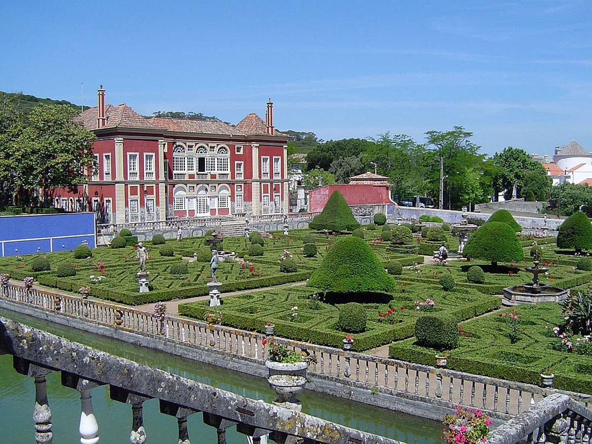 дворец и сад маркиза де Фронтейра, Лиссабон, Португалия