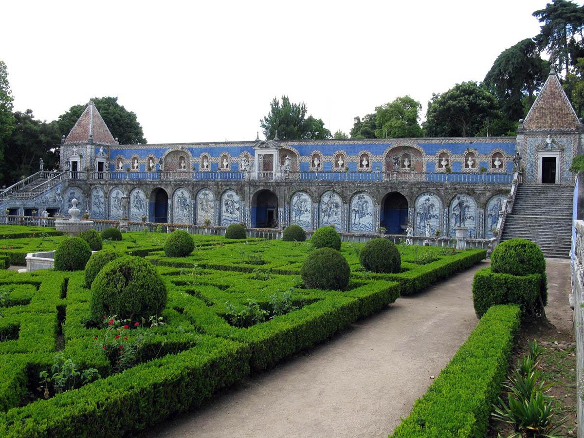 дворец и сад маркиза де Фронтейра, Лиссабон