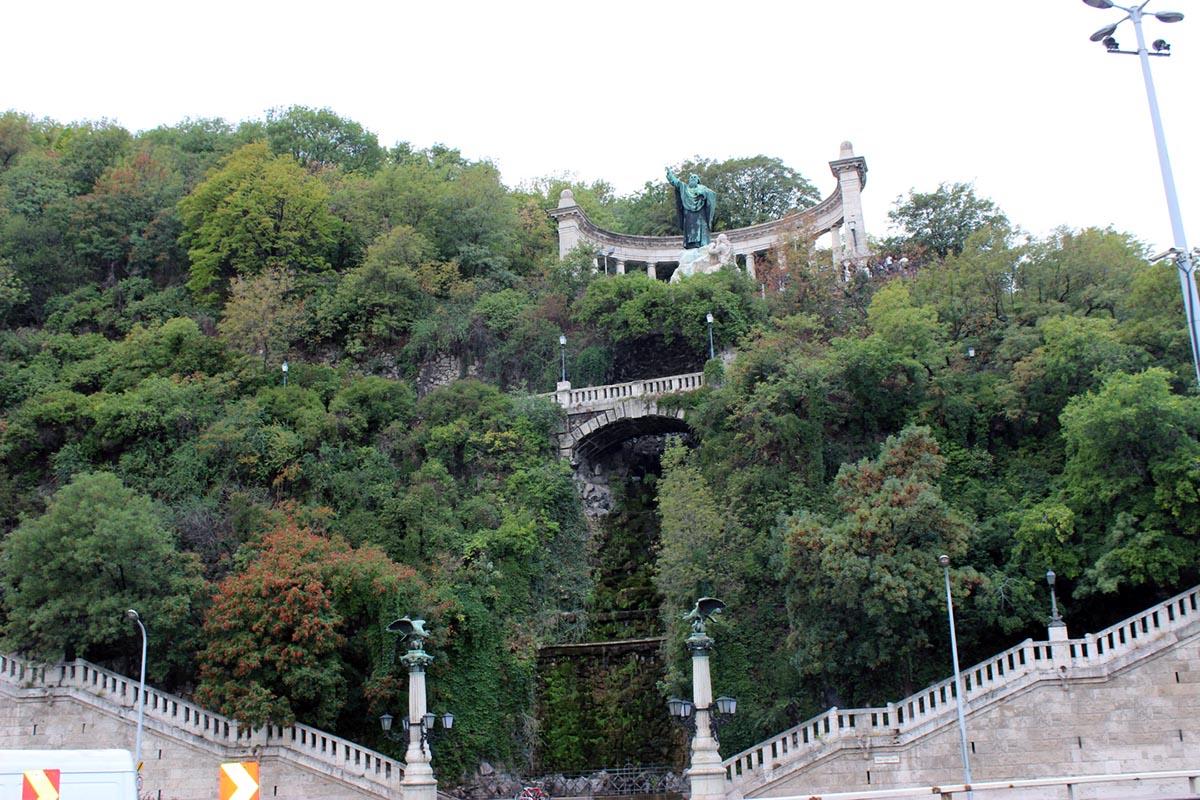 гора Геллерт в Будапеште