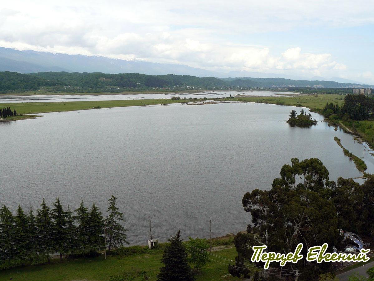 озеро Инкит, Пицунда, Абхазия