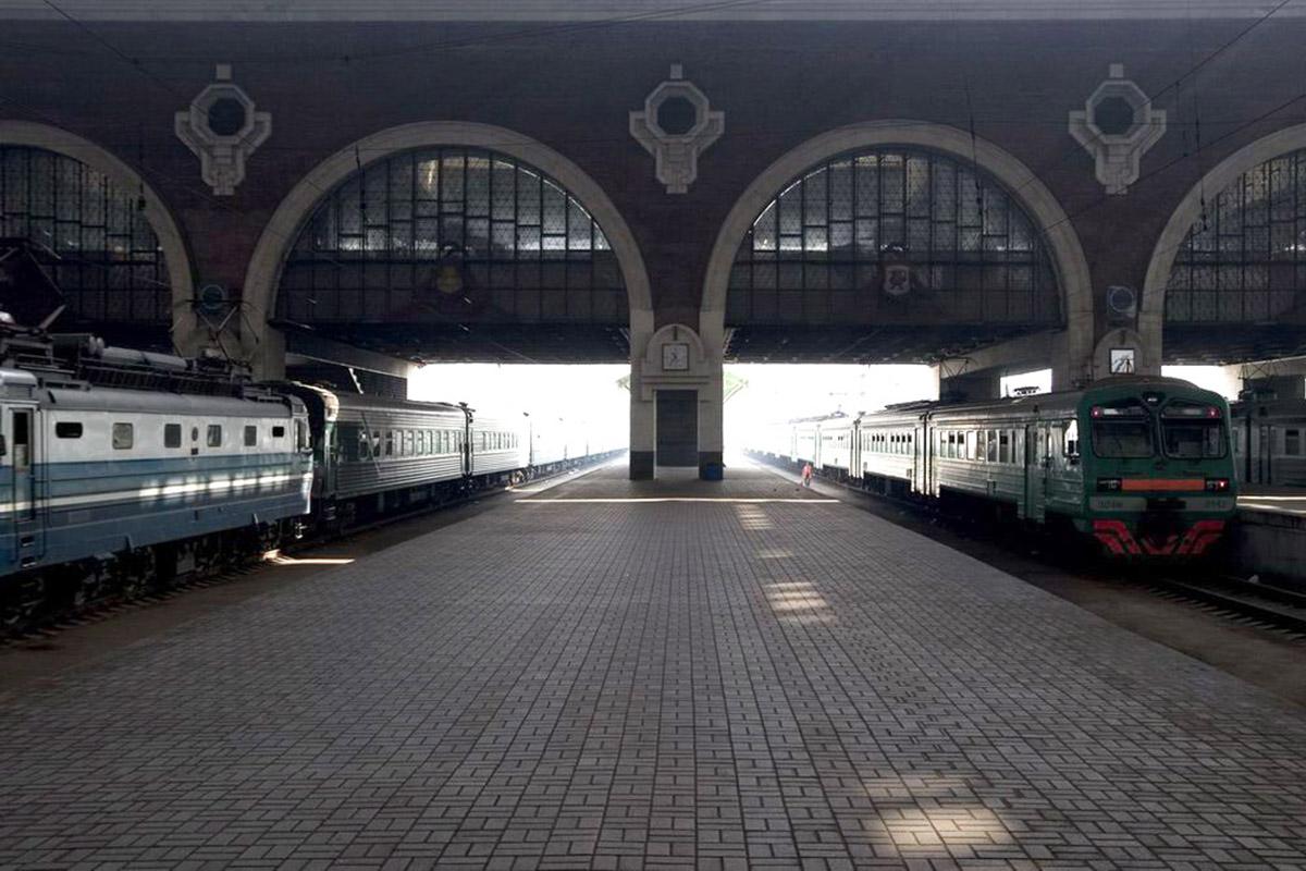 перрон Казанского вокзала