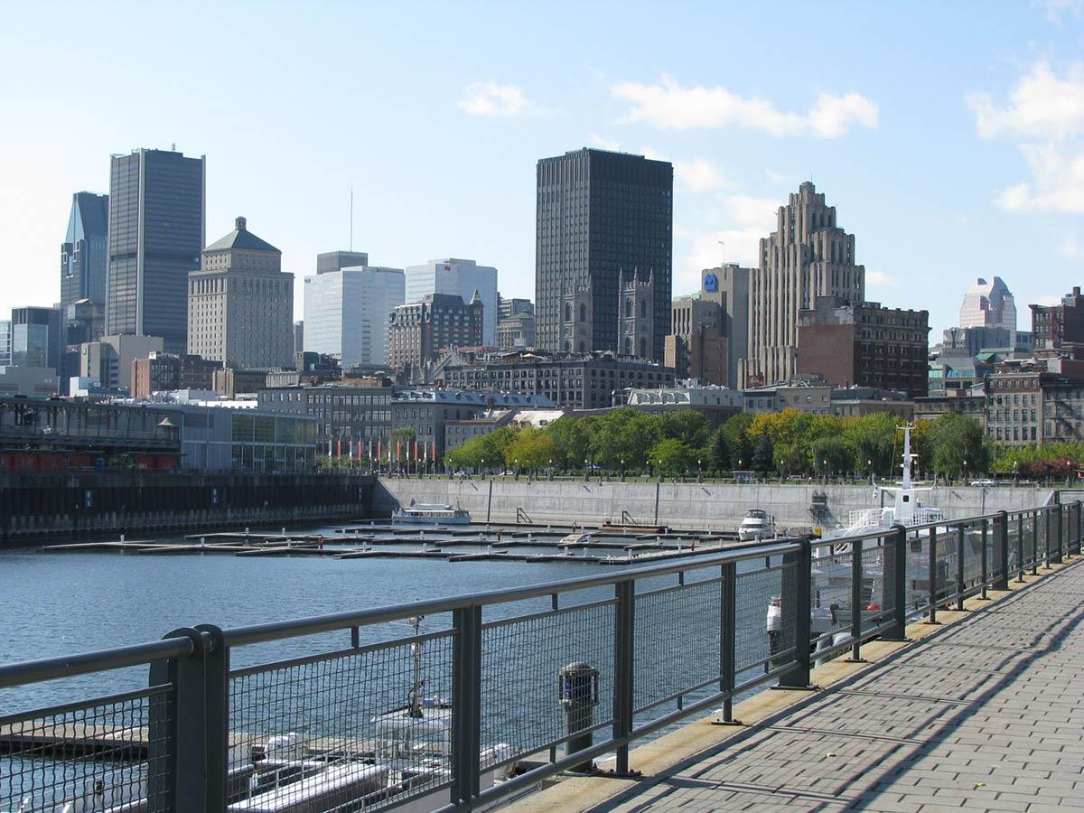 район Старого порта Монреаля