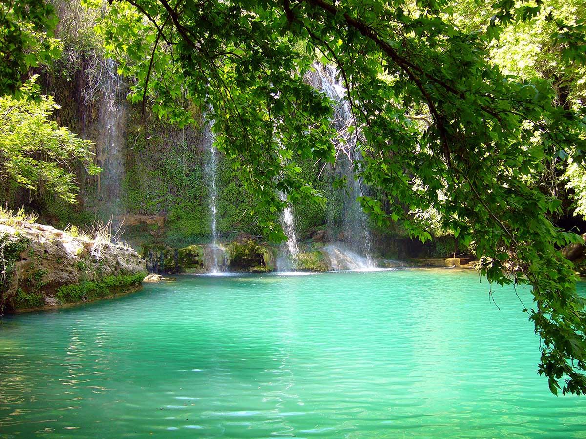 водопад Куршунлу, Анталья, Турция