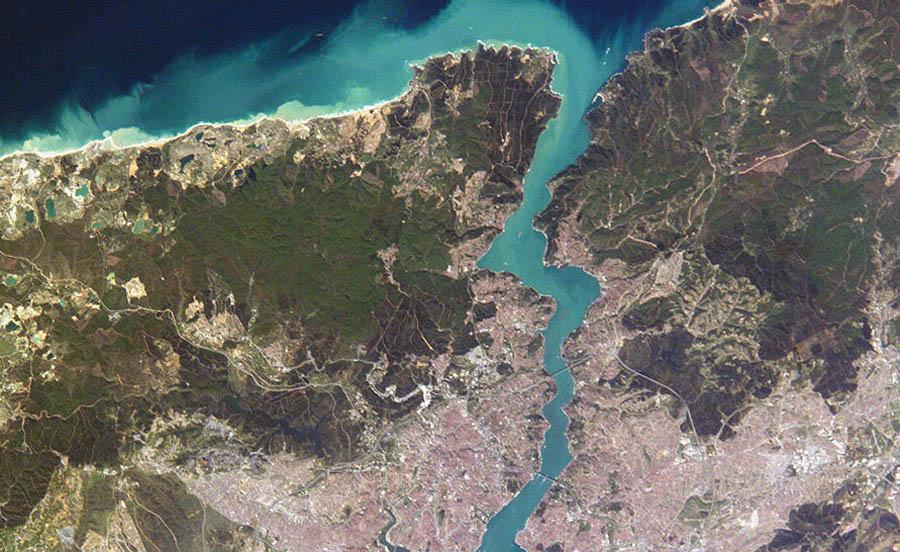 Босфорский пролив - русло подводной реки
