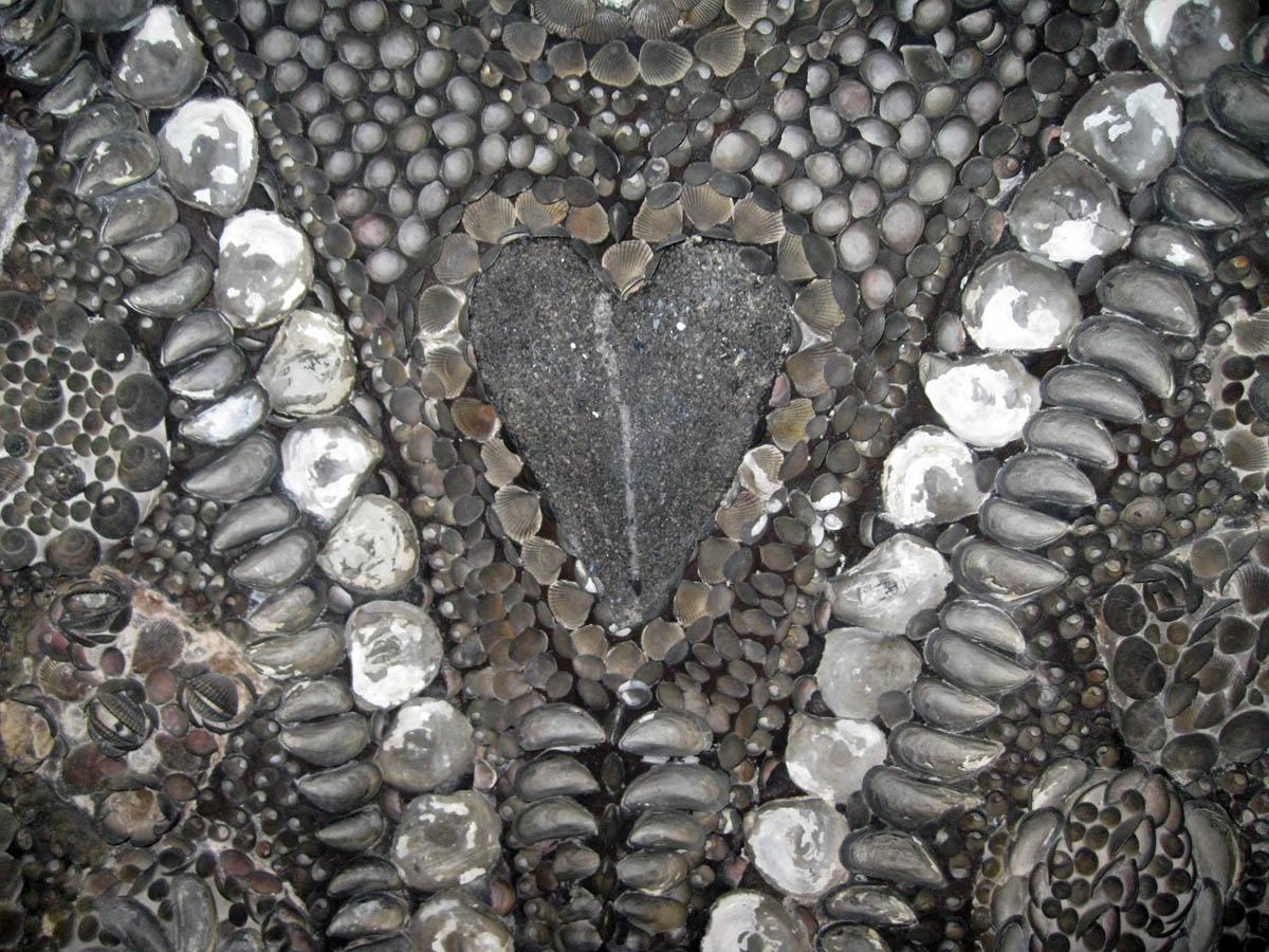 Грот ракушек, Магрит, Англия