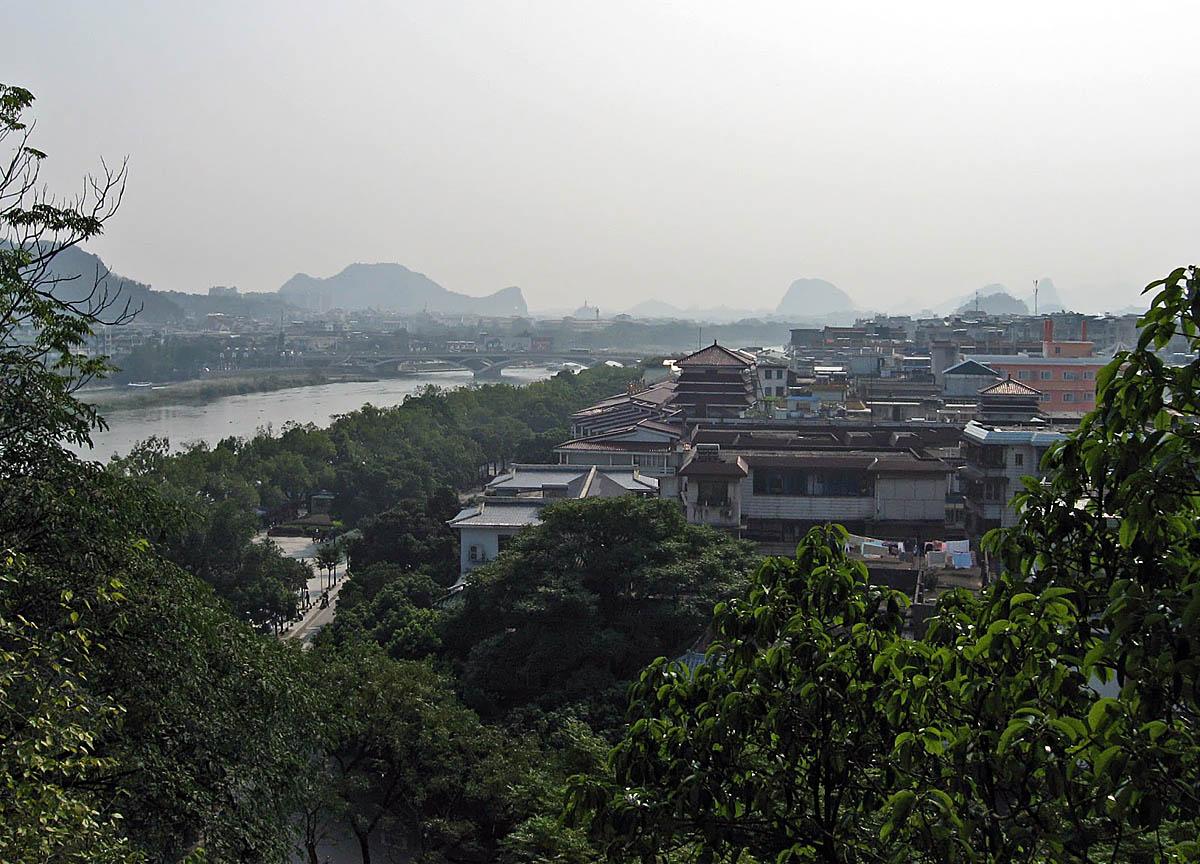 Guilin Fuboshan view