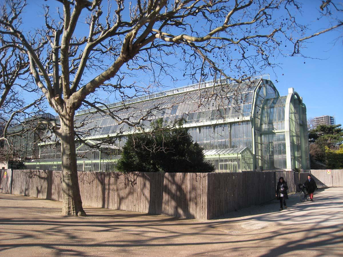 Jardin des Plantes de Paris, glass house