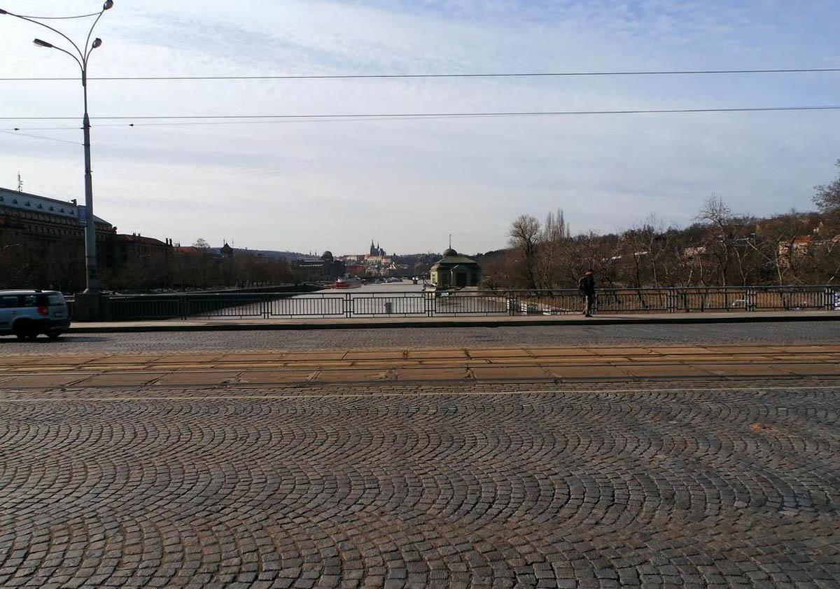 На мосту Главков в Праге