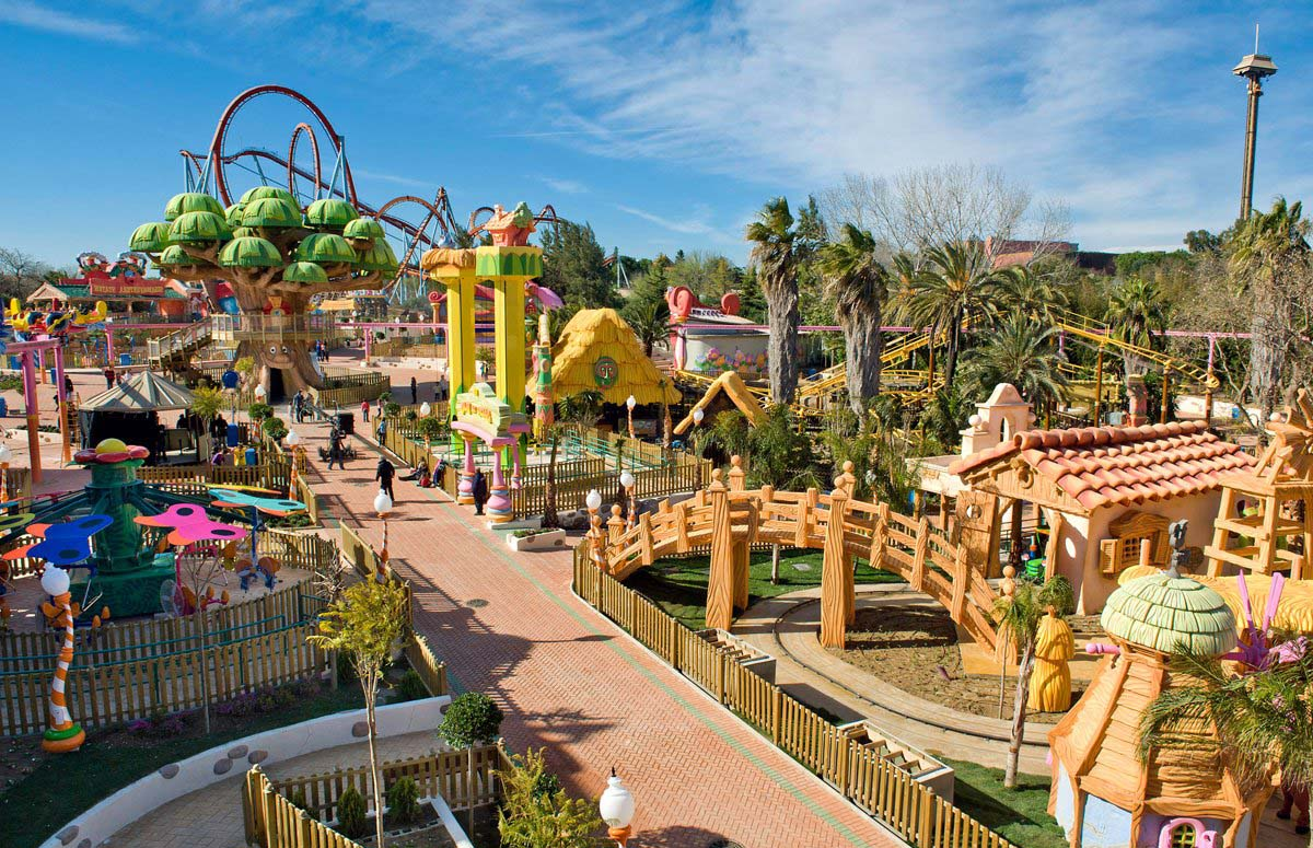 Port Aventura, Salou, Spain
