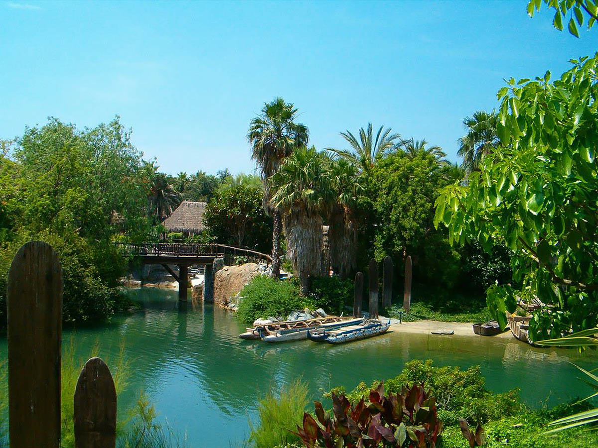 Port Aventura in Salou, Spain