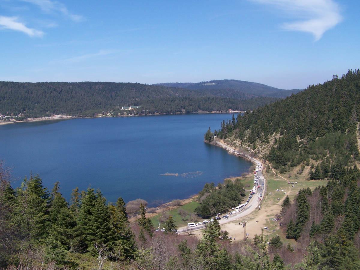 Природный парк озера Абант в Турции