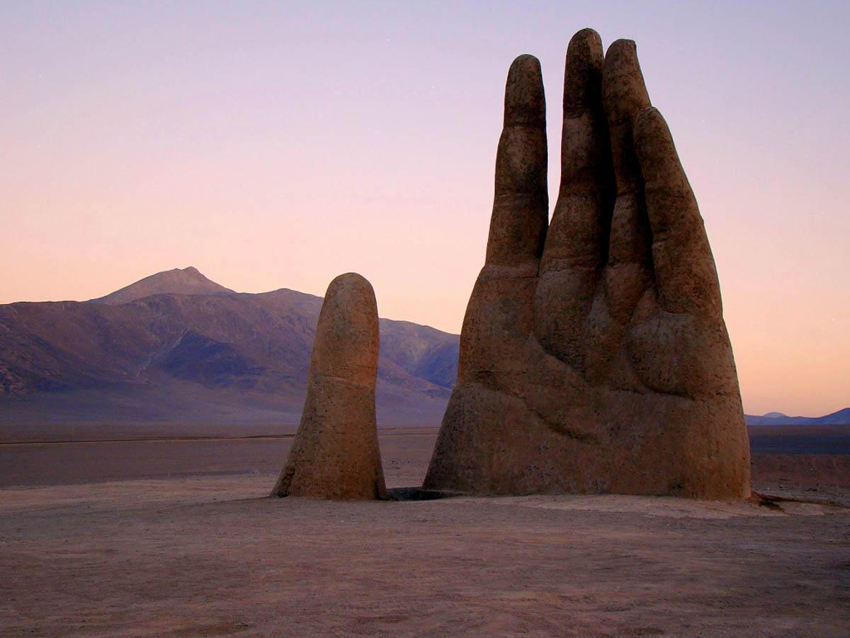 Рука пустыни, пустыня Атакама, Чили