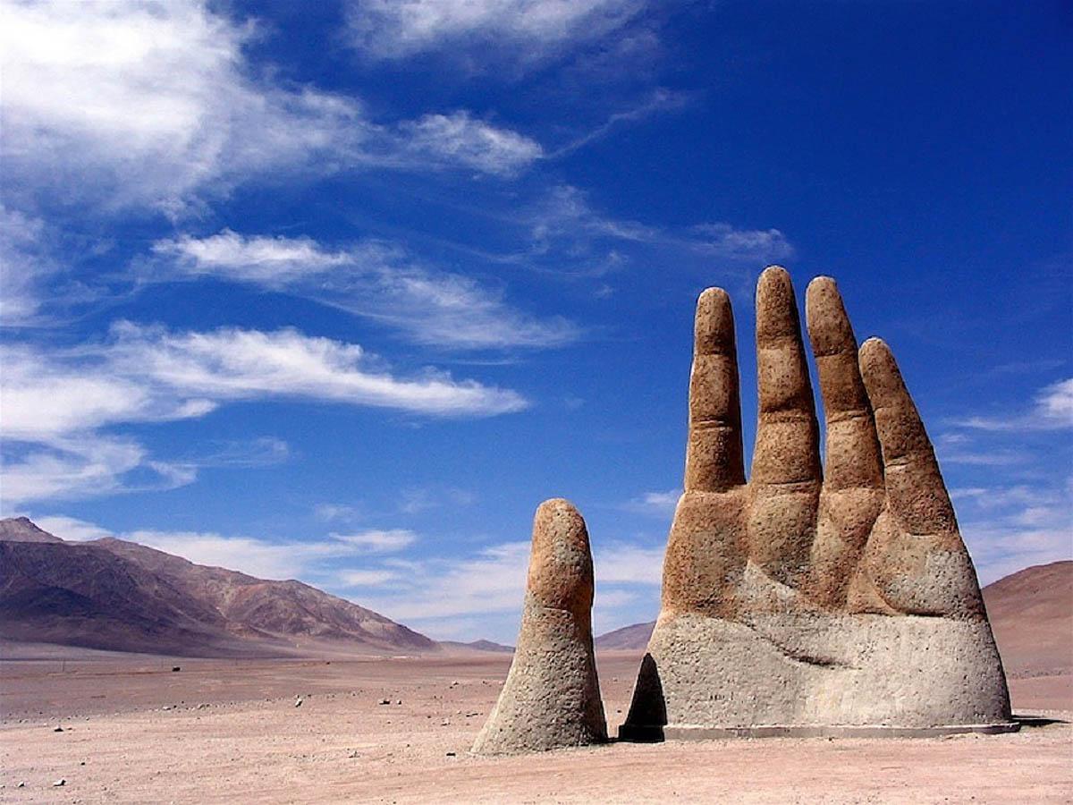 Рука пустыни в Атакаме, Чили