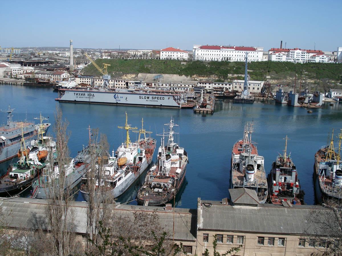 Севастопольская бухта, Крым