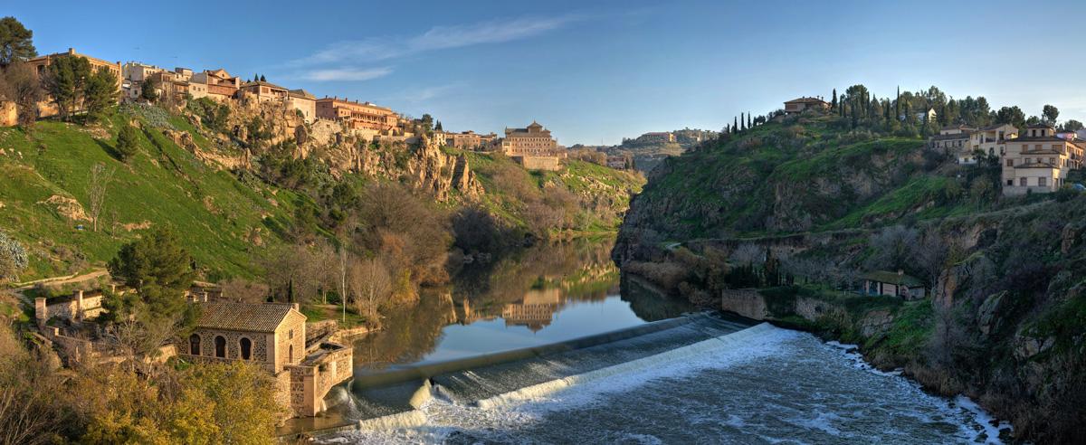 Tagus River, Toledo, Spain