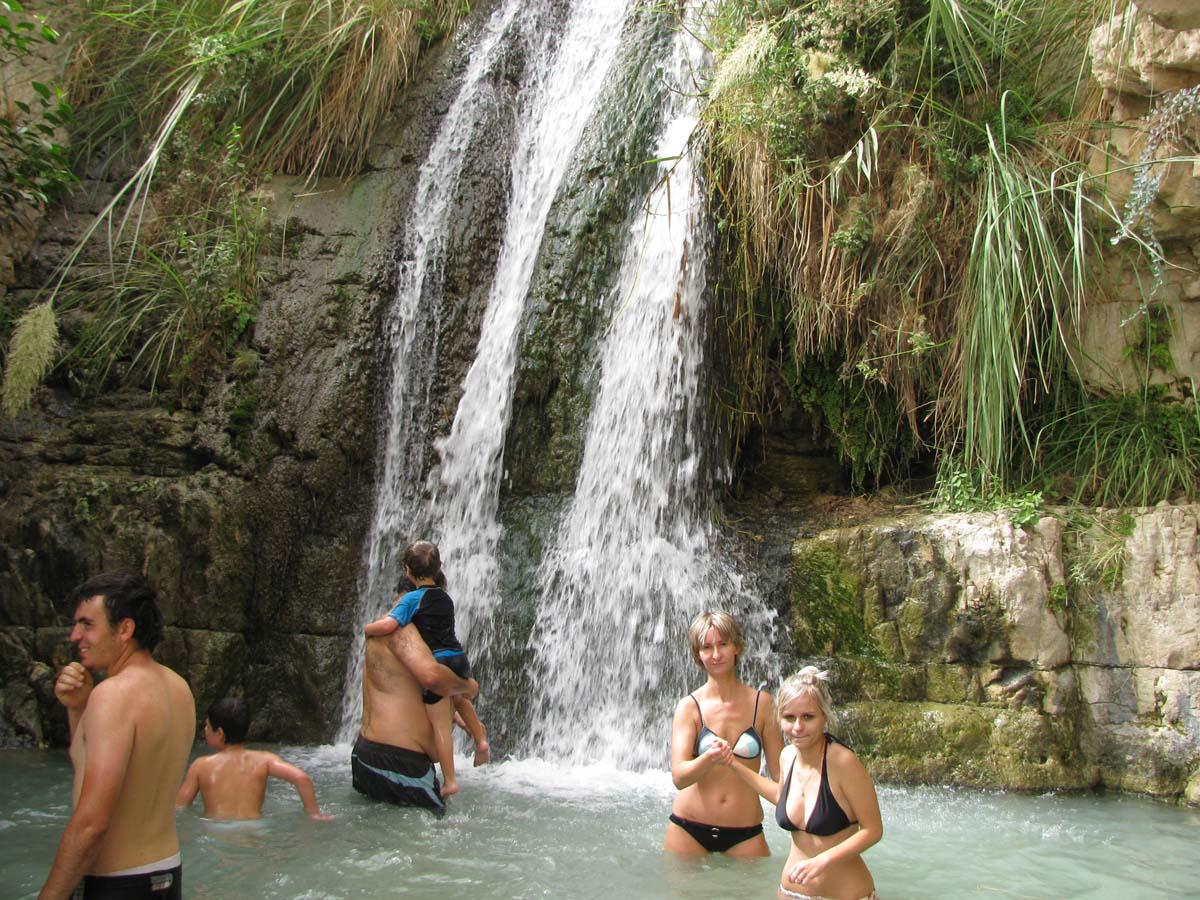 водопад Шуламит, Нахаль-Давид