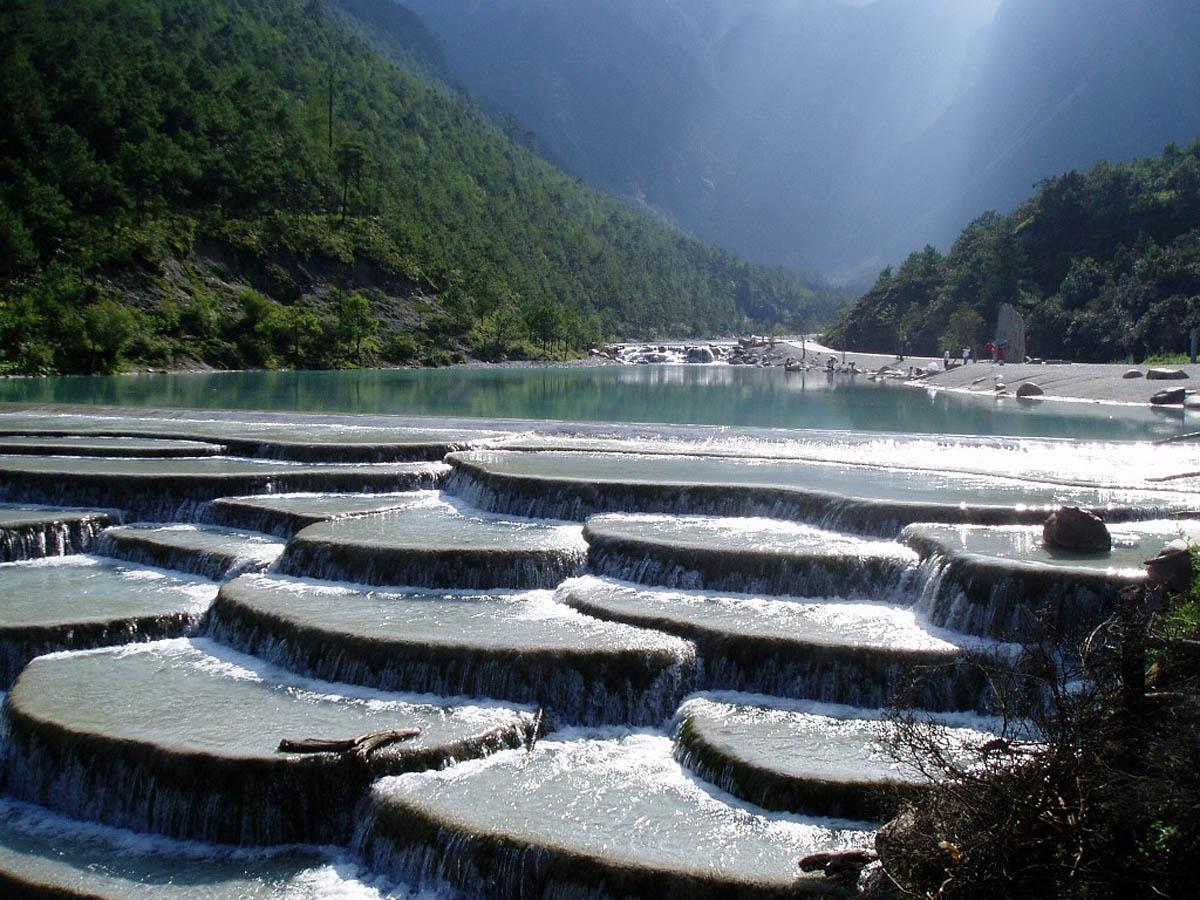 White Water Terrace (Baishuitai), China