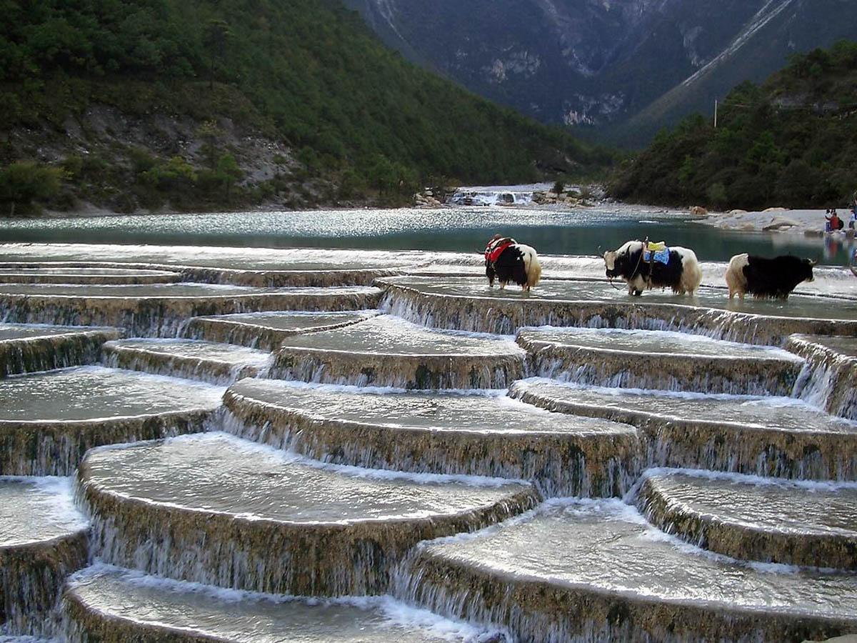 White Water Terrace (Baishuitai)