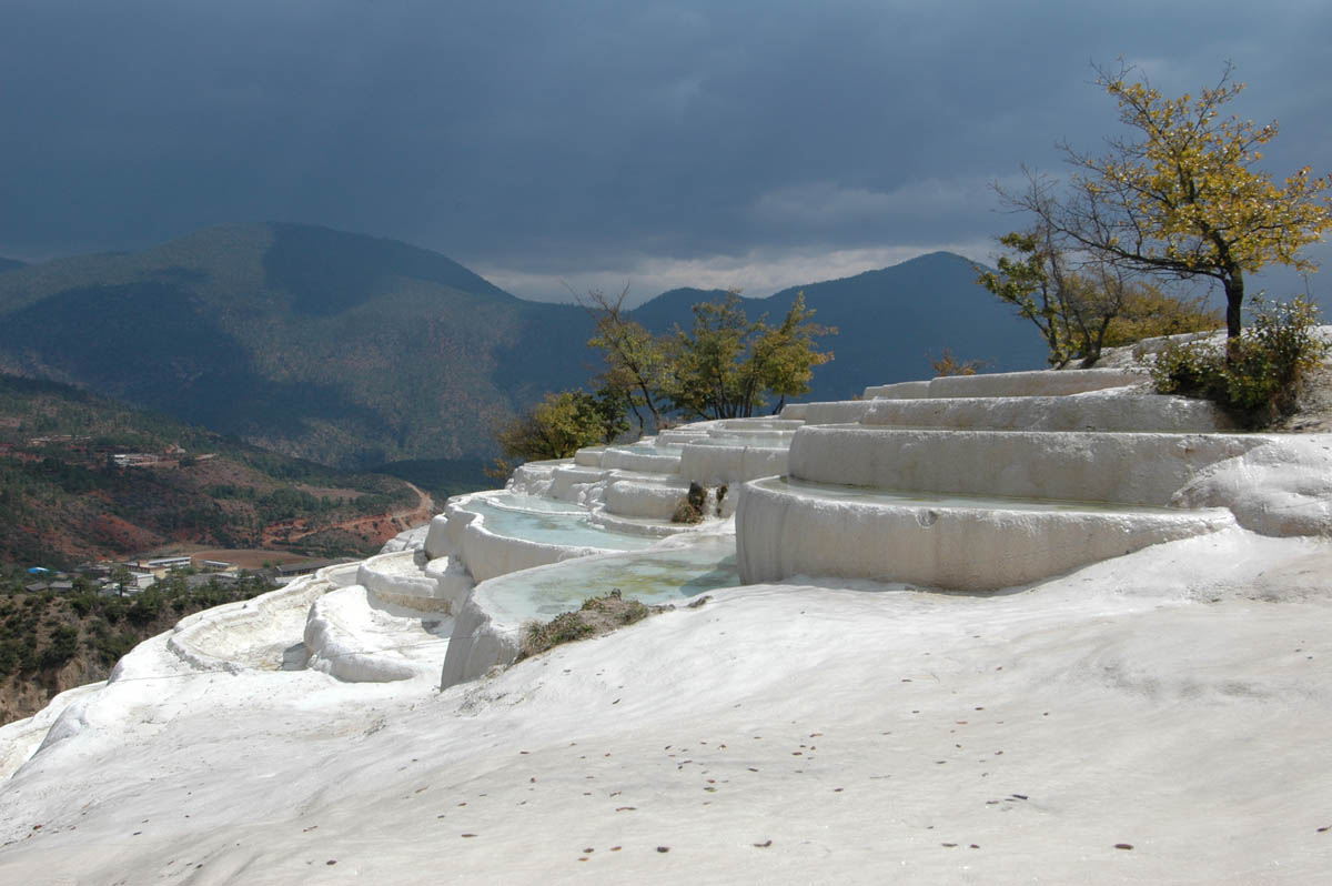 White Water Terrace, China