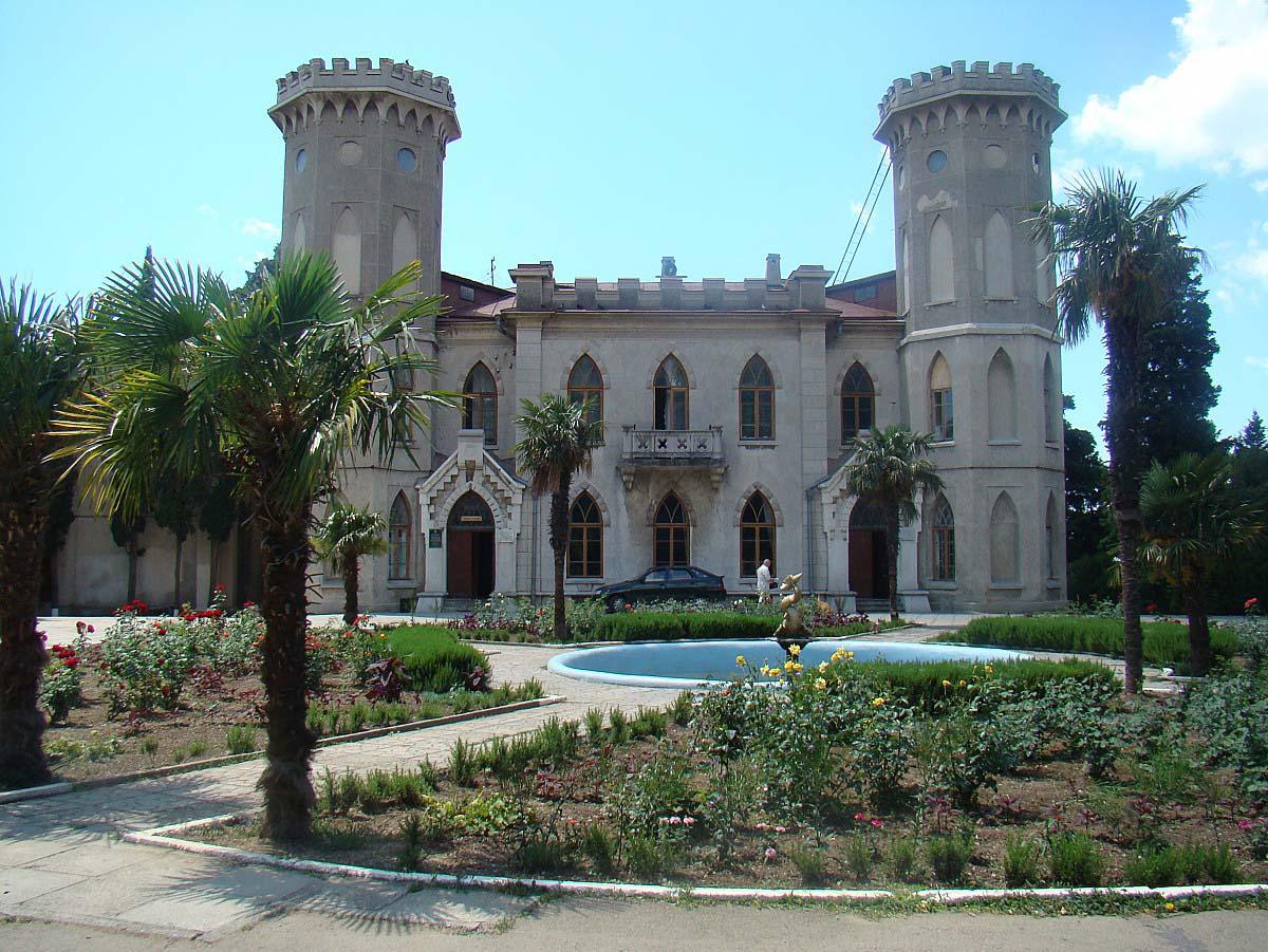 Юсуповский дворец в Кореизе, Крым, Украина