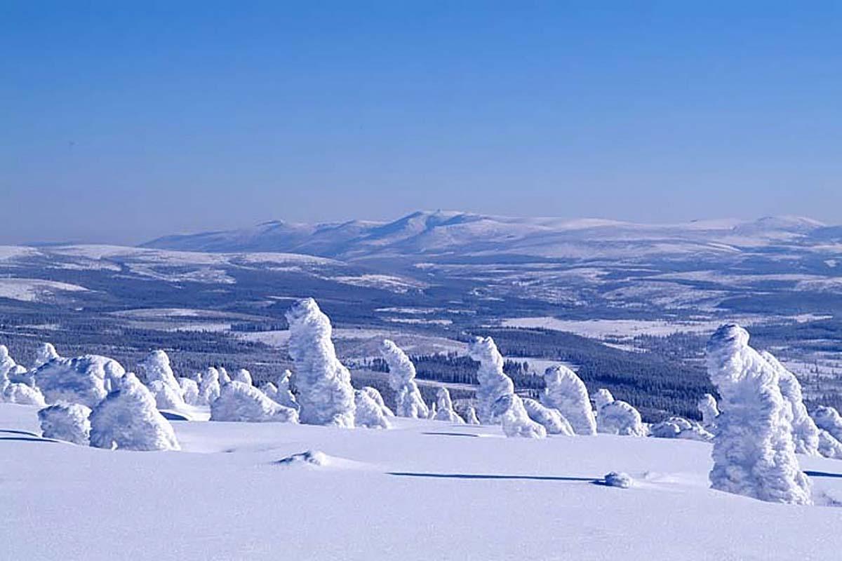 Йизерские горы, Чехия