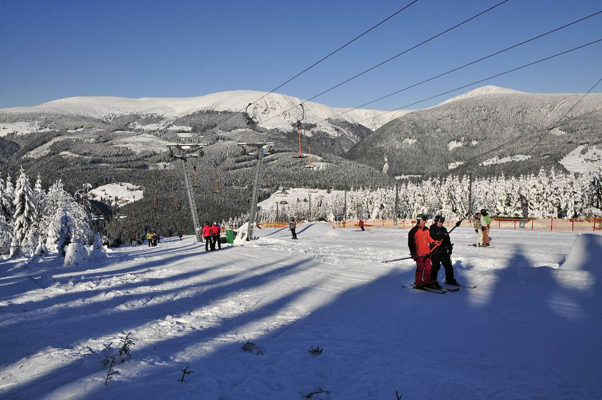 Йизерские горы в Чехии