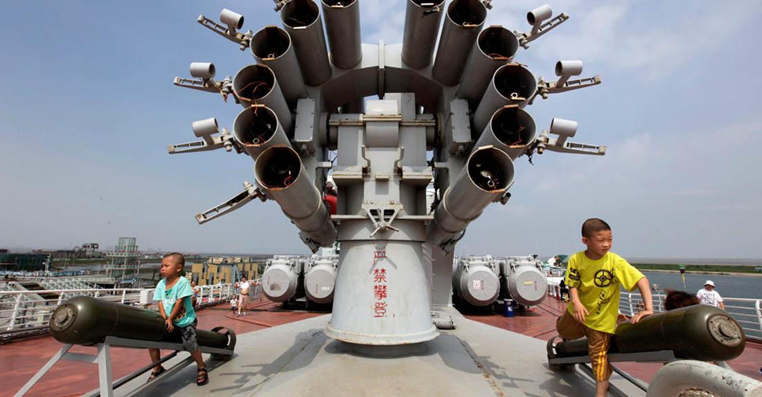 авианосец Киев, Китай