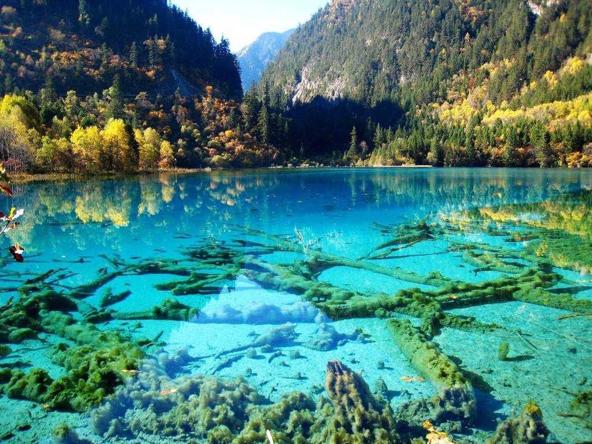 долина Цзючжайгоу, Тибет, Китай
