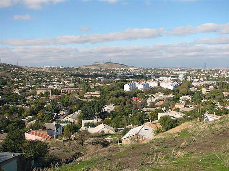 гора Митридат в Феодосии, Крым