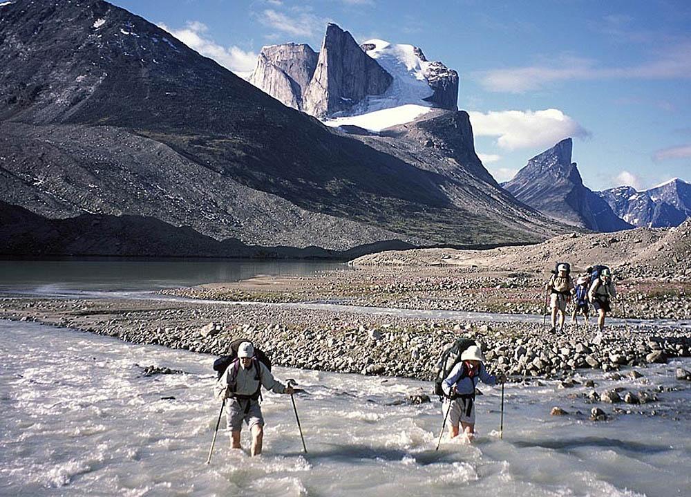 гора Тор, нацпарк Ауйиттук, Канада