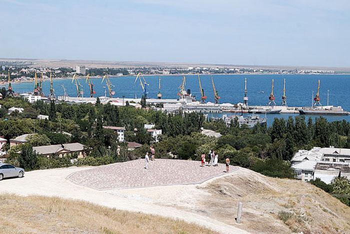 холм Митридат в Феодосии, Крым