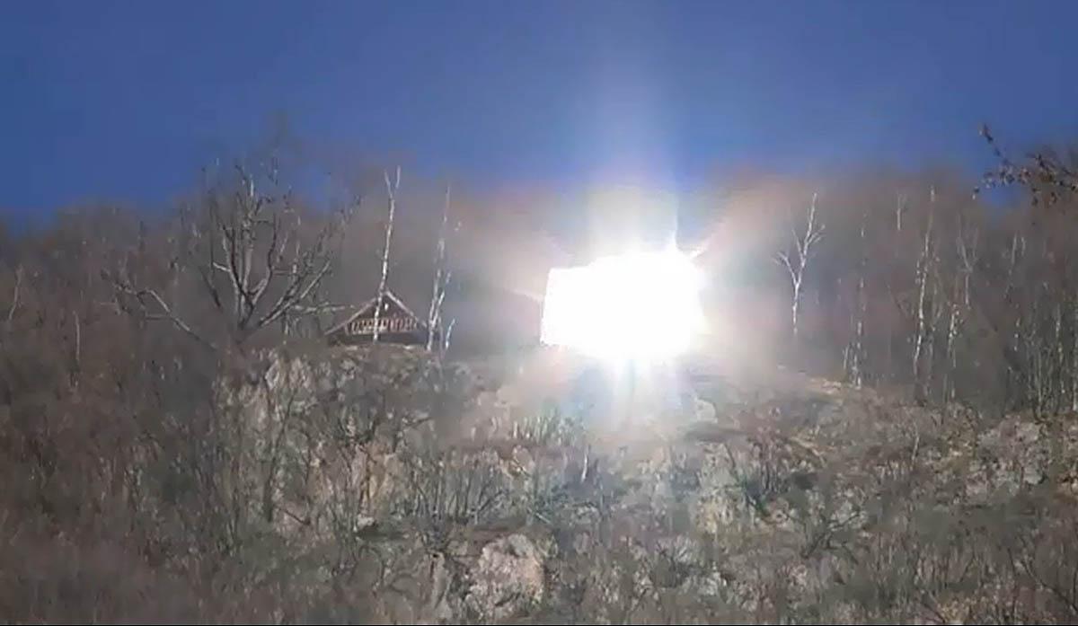 искусственное освещение в деревне Виганелла