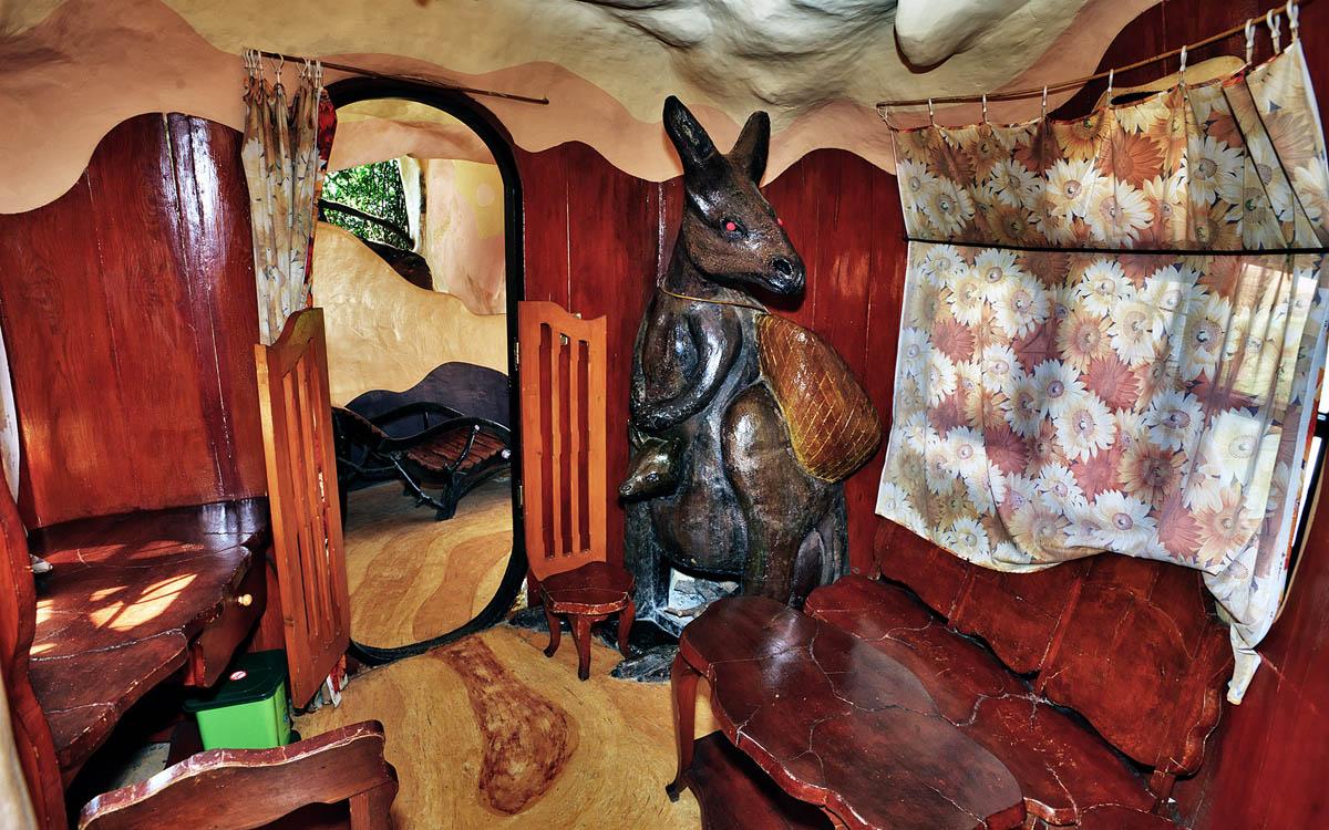 комната кенгуру в Crazy House
